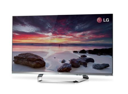 CES 2012: LG Cinema Screen, la Smart TV LCD con il bordo invisibile