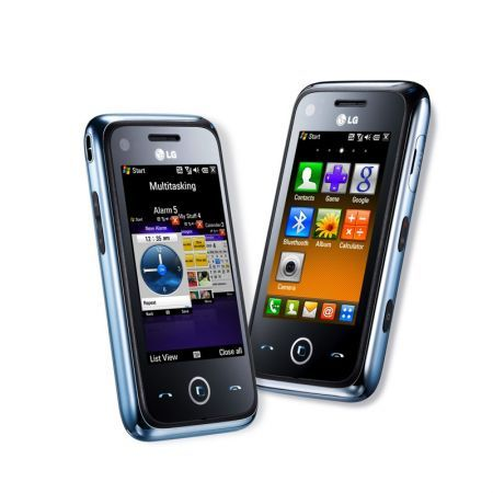 LG GM730: smartphone Windows Mobile in video