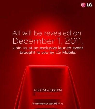 LG Nitro HD, forse presentazione per il 1 dicembre a New York