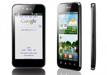 LG Optimus Black: smartphone ultrasottile e luminoso al CES 2011