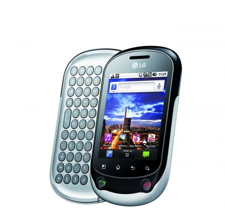 LG Optimus Chat: smartphone Android per i giovani con tastiera QWERTY
