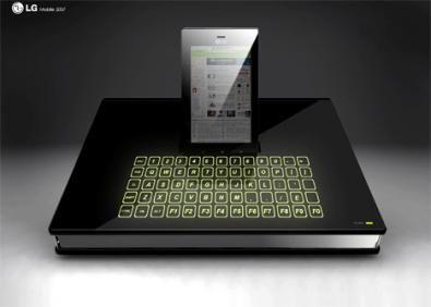 Prototipo smartphone per LG Electronics