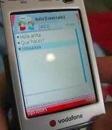 Messenger sul cellulare con Vodafone
