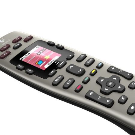 CeBit 2010 Logitech Harmony 600-650 Remote