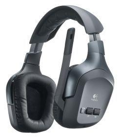 Logitech Wireless Headset F540: cuffie wireless per gli amanti dei videogiochi