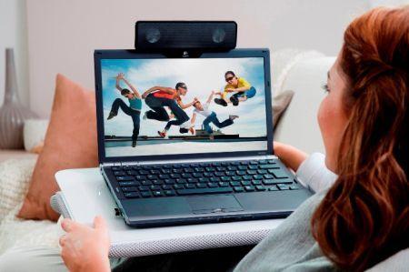 Al CeBit 2010 Logitech Laptop Speaker Z205