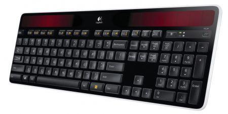 Logitech Wireless Keyboard K750: tastiera a energia solare per la Festa del Papà