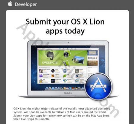 Mac OS X Lion: in arrivo negli Apple Store dal 14 Luglio 2011?