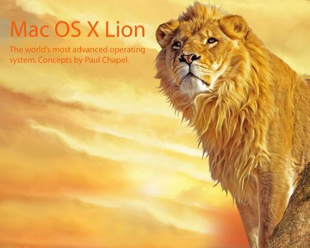 Lion sul Mac all'evento Apple Back to Mac