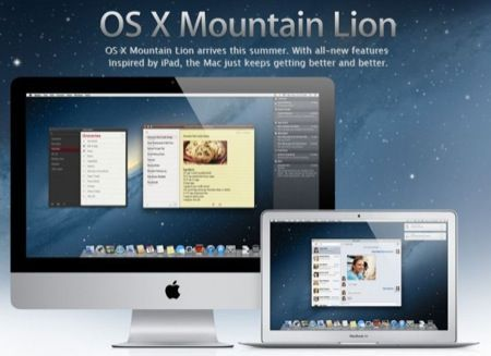 Mac OS X 10.8 Mountain Lion, arriva il nuovo sistema operativo Apple