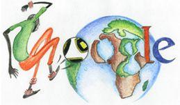 Google Doodle dedicato ai Mondiali di Calcio 2010