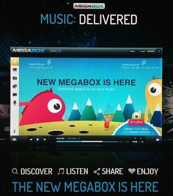 Megabox, il nuovo Megavideo musicale legale di Kim Dotcom