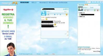 Messenger FX: i nostri contatti Messenger, su qualsiasi sistema operativo