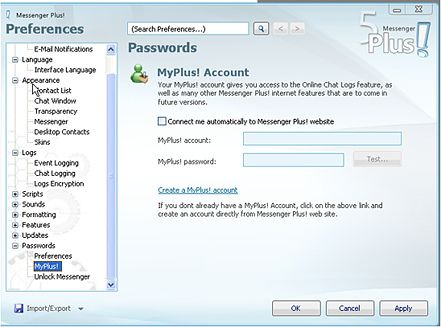 Messenger Plus 5: aumentare le potenzialità di Windows Live Messenger