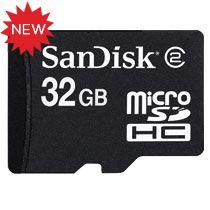 SanDisk microSDHC da 32 GB: la memoria per smartphone più capiente al mondo