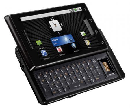 Motorola MILESTONE: ufficializzato in Italia lo smartphone Android 2.0