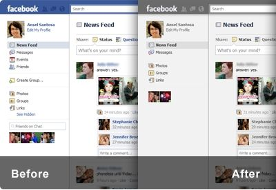 Minimalist for Facebook: personalizzare la home page di Facebook