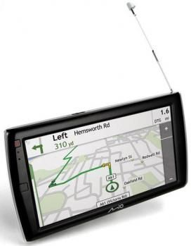 Mio Moov Spirit V505 TV: navigatore GPS e ricevitore TV come idea regalo