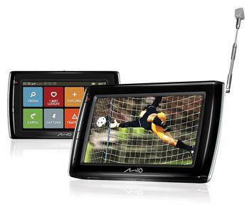 Mio Spirit V505 TV e V735 TV: navigatori GPS con TV per la Festa del Papà
