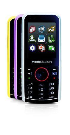 MD-301 MomoDesign: telefonino candybar 3G con supporto e-mail r videochiamate