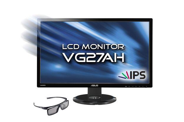 Asus VG27AH, nuovo monitor Full HD pensato per i videogiochi 3D