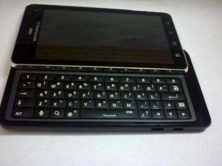 Motorola Milestone 3: arrivano dettagli e specifiche tecniche (Motorola Droid 3)