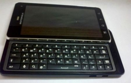 Motorola Milestone 3 (Motorola Droid 3)