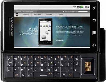 Motorola Milestone: presto l'aggiornamento ad Android 2.2 Froyo