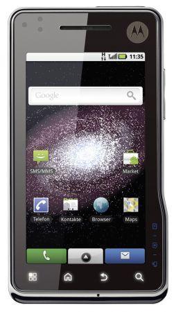 Motorola Milestone XT720: caratteristiche tecniche e video