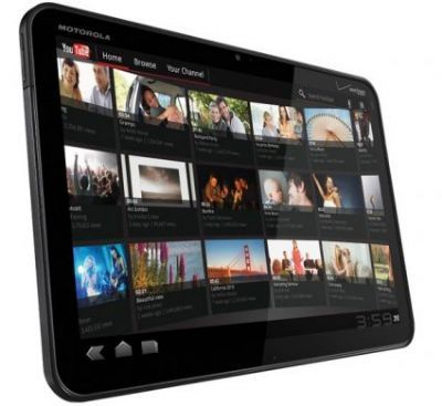 Motorola Xoom Tablet con Android 3.0 Honeycomb al CES 2011