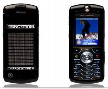 Cellulare Motorola a idrogeno?