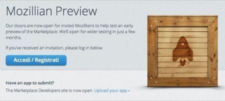 Mozilla Marketplace, arriva il negozio app di Firefox