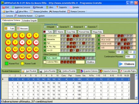 Win for Life: Mr Win for Life crea sistemi e simula giocate