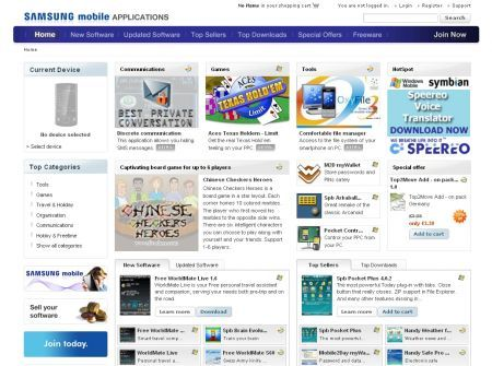 Nasce il Samsung Mobile Applications