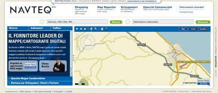Aggiornamento mappe Navteq: aggiornamento cartografico come idea regalo
