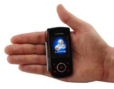 Neon 7: smartphone con touchscreen in miniatura