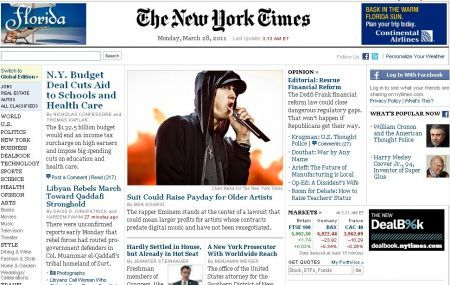 New York Times Online a pagamento