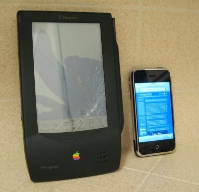 newton-and-iphone