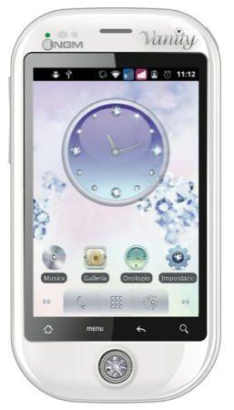 NGM Vanity Smart, il nuovo cellulare gioiello Dual SIM con cristalli Swarovski