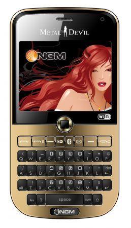 NGM Metal Devil: alluminio, dual sim, Wi-Fi e 3G