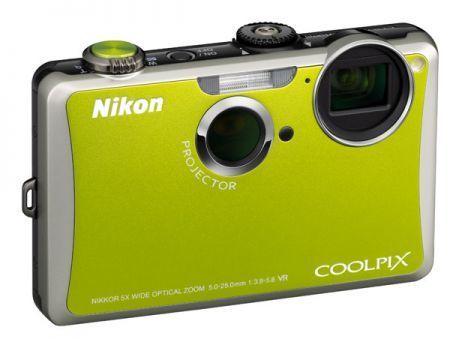 Nikon s1100pj: fotocamera digitale compatta con proiettore integrato