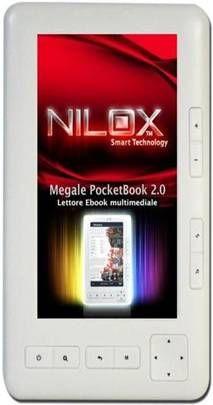 Nilox Megale Pocket Book 2.0: e-book reader multimediale per San Valentino