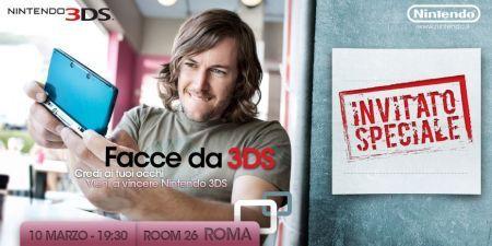 Nintendo 3DS a Roma: 5 inviti per i lettori di Tecnozoom