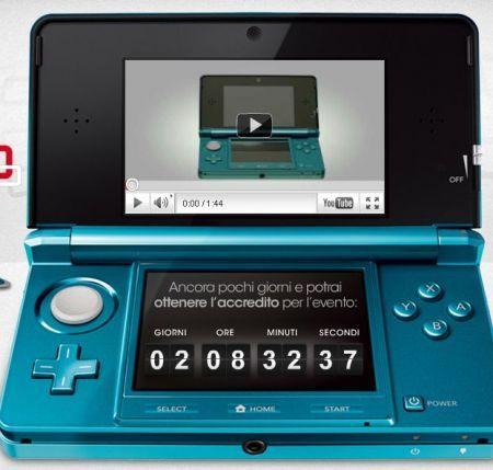 Nintendo 3DS a Milano