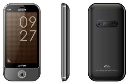 NGM Coffee, smartphone Dual Sim per il social networking