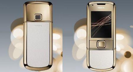 Nokia 8800 Gold Arte: pelle, acciaio inox ed oro a 18 caratteri