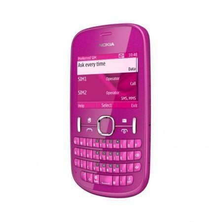 Nokia Asha 200 e 201 al Nokia World 2011: smartphone QWERTY low cost con dual-SIM