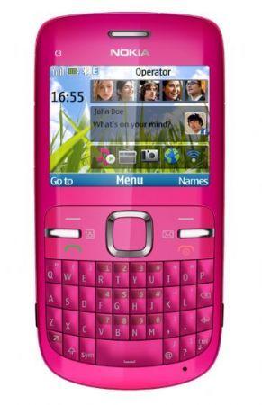 Nokia C3: cellulare QWERTY con funzioni multimediali come idea regalo