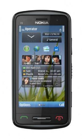 Nokia C6-01: smartphone Symbian con schermo AMOLED
