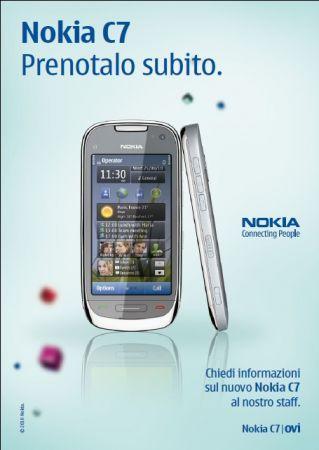 Nokia C7: in preordine sul Nokia Online Shop
